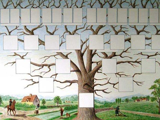Ген древо