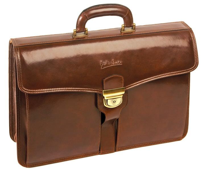 кожанный портфель
